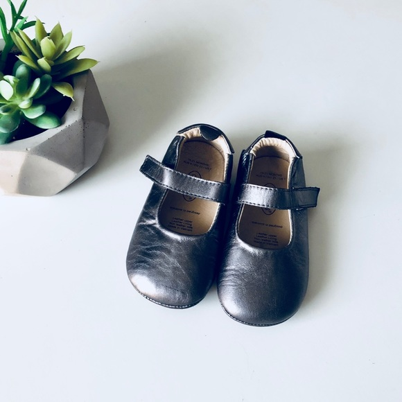 Old Soles Gabrielle Mary Jane Pewter